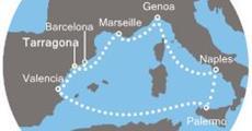 Costa Magica - Španělsko, Francie, Itálie (Tarragona)