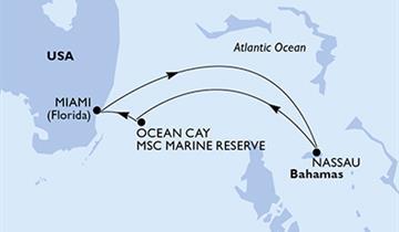 MSC Meraviglia - USA, Bahamy (z Miami)