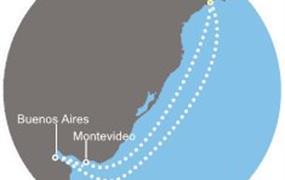 Costa Favolosa - Brazílie, Argentina, Uruguay (Santos)