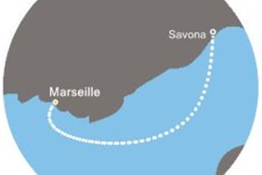 Costa Favolosa - Francie, Itálie (Marseille)