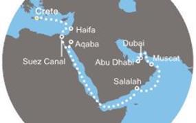 Costa Venezia - Řecko, Jordánsko, Omán, Arabské emiráty (Heraklion)