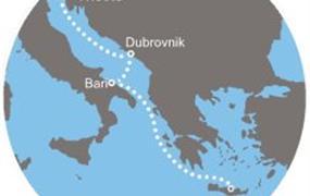Costa Venezia - Itálie, Chorvatsko, Řecko (Terst)