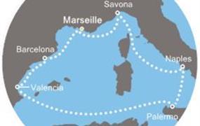 Costa Diadema - Francie, Itálie, Španělsko (Marseille)
