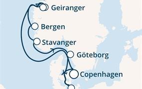 Costa Fascinosa - Dánsko, Norsko, Německo (Kodaň)