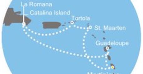 Costa Magica - Antily, Dominikán.rep., Panenské ostrovy
