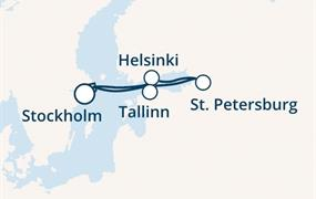 Costa Magica - Švédsko, Finsko, Rusko, Estonsko (Stockholm)