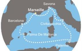 Costa Diadema - Francie, Španělsko, Baleáry, Itálie (Marseille)