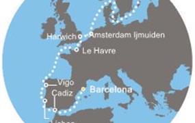 Costa Magica - Španělsko, Portugalsko, Francie, Anglie, Švédsko (z Barcelony)