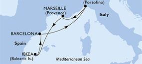 MSC Poesia - Itálie, Francie, Španělsko (z Janova)