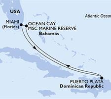 MSC Meraviglia - USA, Dominikán.rep., Bahamy (z Miami)