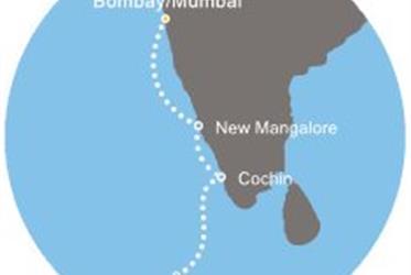 Costa Victoria - Indie, Maledivy (z Bombaje)