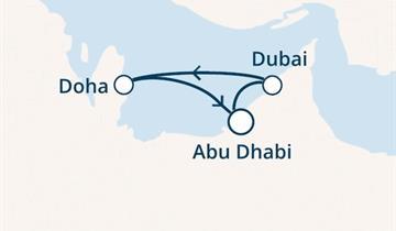Costa Diadema - Arabské emiráty (z Abú Dhabí)