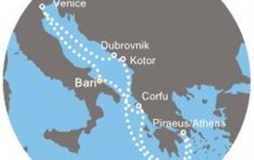 Costa Luminosa - Itálie, Řecko, Černá Hora, Chorvatsko (Bari)
