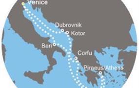 Costa Luminosa - Itálie, Řecko, Černá Hora, Chorvatsko (z Benátek)