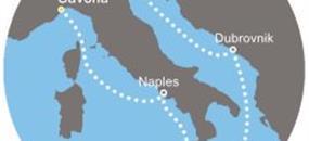Costa Luminosa - Itálie, Chorvatsko (ze Savony)
