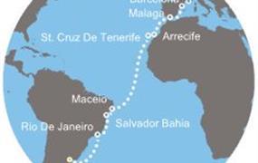 Costa Pacifica - Argentina, Brazílie, Kanárské ostrovy, Španělsko, Francie (Buenos Aires)