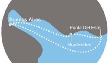 Costa Pacifica - Argentina, Uruguay (Buenos Aires)