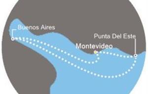 Costa Pacifica - Uruguay, Argentina (Montevideo)