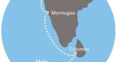 Costa Victoria - Maledivy, Srí Lanka, Indie (Malé)