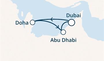 Costa Diadema - Arabské emiráty (z Dubaje)