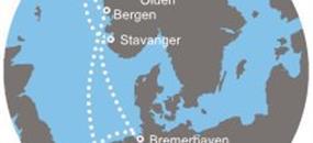 Costa Mediterranea - Norsko, Německo (z Amsterdamu)