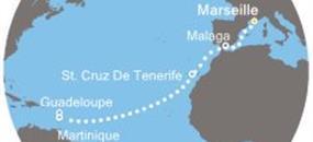 Costa Magica - Francie, Španělsko, Kanárské ostrovy, Antily (Marseille)
