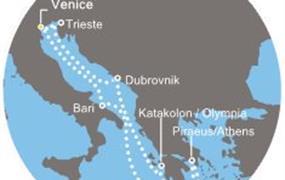 Costa Luminosa - Itálie, Chorvatsko, Řecko (z Benátek)