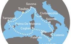 Costa Victoria - Španělsko, Baleáry, Itálie, Malta (Toulon)
