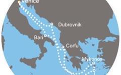 Costa Deliziosa - Itálie, Řecko, Chorvatsko (z Benátek)