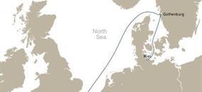 Queen Victoria - Plavba do Southamptonu (z Kielu)
