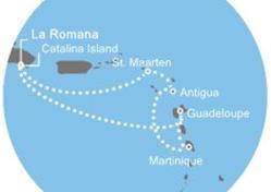 Costa Favolosa - Dominikán.rep., Antily (z La Romana)