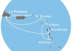 Costa Magica - Dominikán.rep., Antily (z La Romana)