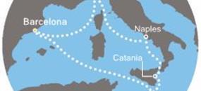 Costa Fascinosa - Španělsko, Itálie, Malta (z Barcelony)