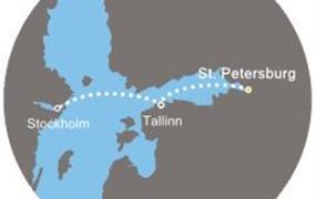 Costa Magica - Rusko, Estonsko, Švédsko (Petrohrad)