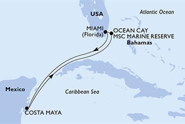 MSC Divina - USA, Mexiko, Bahamy (z Miami)