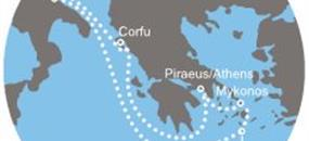 Costa Victoria - Itálie, Řecko (Bari)