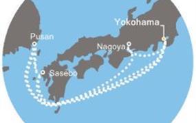 Costa neoRomantica - Japonsko, Jižní Korea (Jokohama)