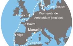 Costa Fascinosa - Francie, Španělsko, Portugalsko, Anglie, Dánsko, Německo (Marseille)