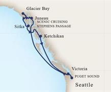 MS Eurodam - Plavba po Aljašce (ze Seattlu)