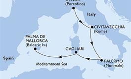 MSC Fantasia - Itálie, Španělsko (z Janova)