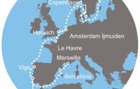Costa Magica - Švédsko, Dánsko, Anglie, Francie, Španělsko, Portugalsko (Stockholm)