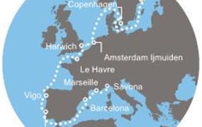 Costa Magica - Švédsko, Dánsko, Anglie, Francie, Španělsko, Portugalsko, Itálie (Stockholm)