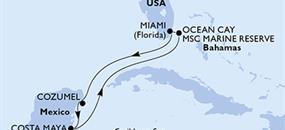 MSC Armonia - USA, Mexiko, Bahamy (z Miami)