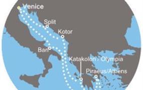 Costa Deliziosa - Itálie, Chorvatsko, Černá Hora, Řecko (z Benátek)