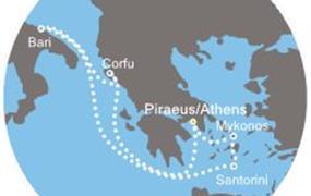 Costa Victoria - Řecko, Itálie (z Pirea)