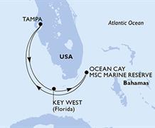 MSC Armonia - USA, Bahamy