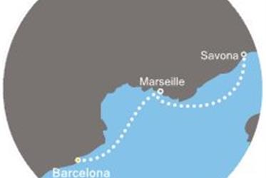 Costa Magica - Španělsko, Francie, Itálie (z Barcelony)