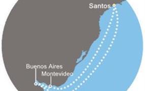 Costa Fascinosa - Brazílie, Argentina, Uruguay (Santos)