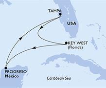 MSC Armonia - USA, Mexiko (z Tampy)