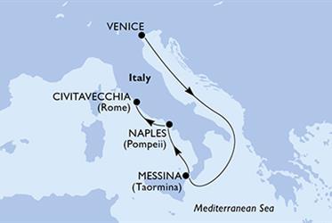 MSC Sinfonia - Itálie (z Benátek)